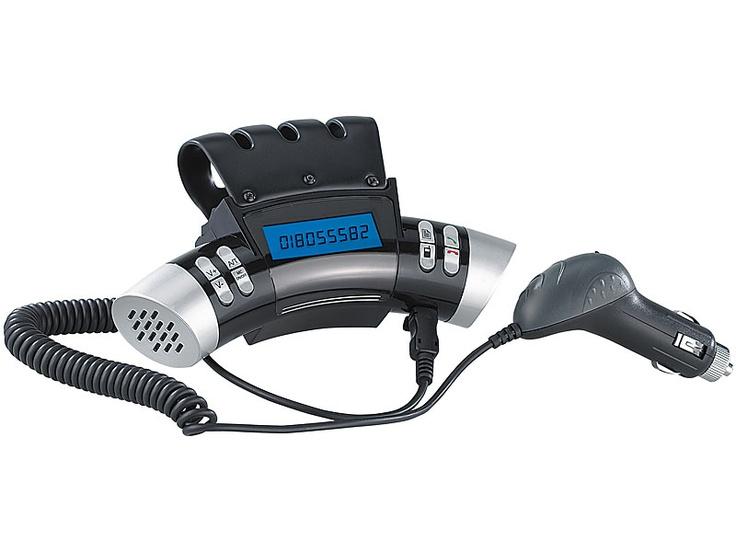 Callstel Bluetooth Lenkrad-Freisprecheinrichtung BFX-360 Rallye