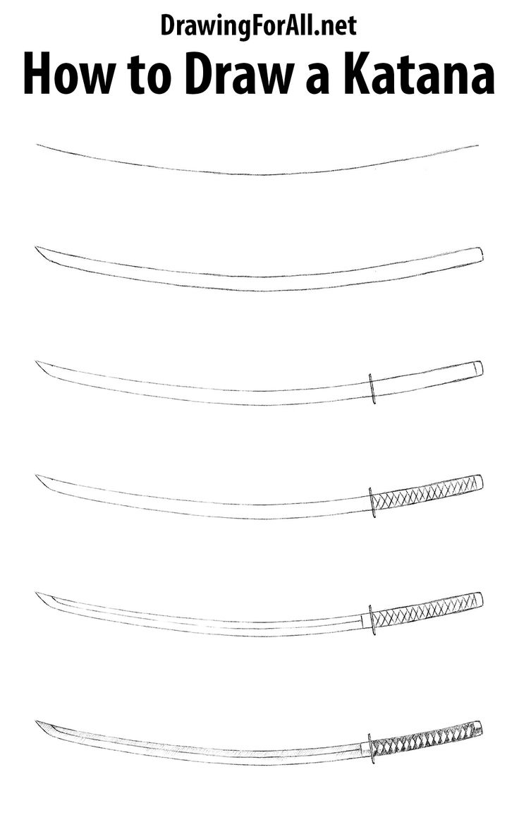 how to draw a katana from your back