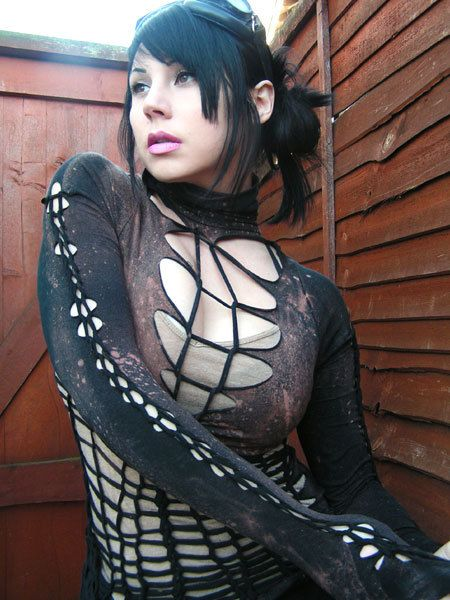 Steampunk Goth Clothing Post Apocalyptic Zombie by AnansiTheSpider, $40.00