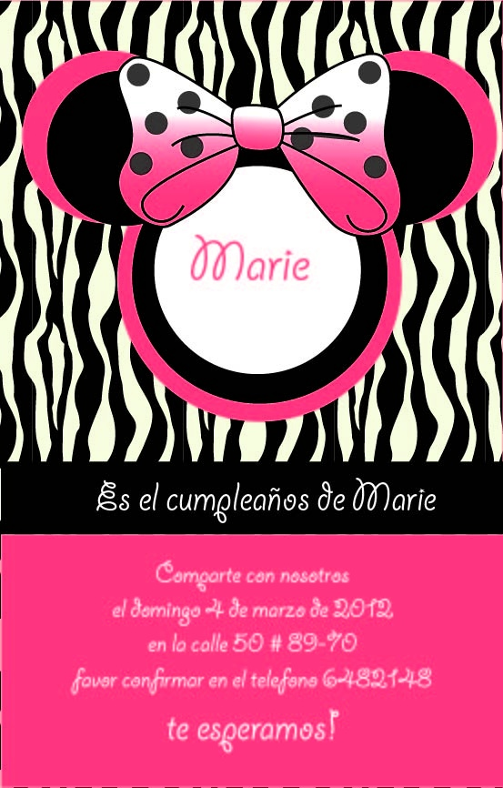 16 best images about Tarjetas de invitacion on Pinterest