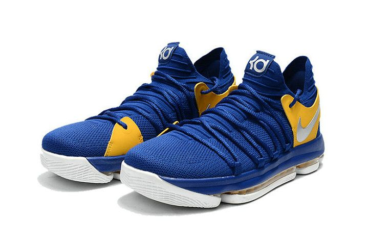 sports shoes 29663 b2cd9 sale shop kevin durant shoes 2017 kd 10 x golden states warriors colors  mens basketball shoes