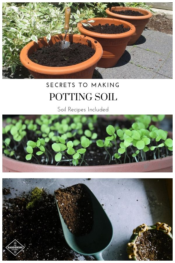 Make Your Own Potting Soil And Growing Mix Potting Soil Garden