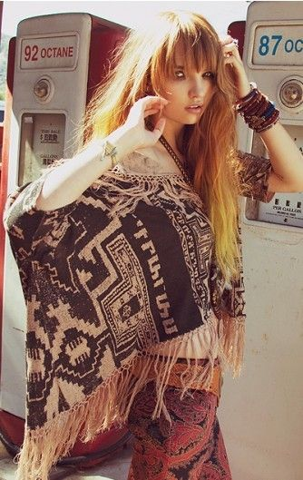 11 Best Images About Poncho Trend How To Wear On Pinterest Boho Hippie Bohemian And