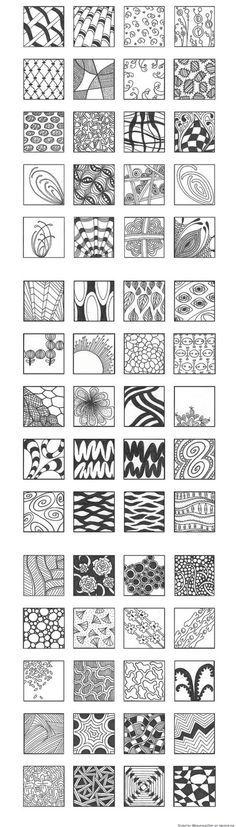 Grafik - Muster & Schraffuren