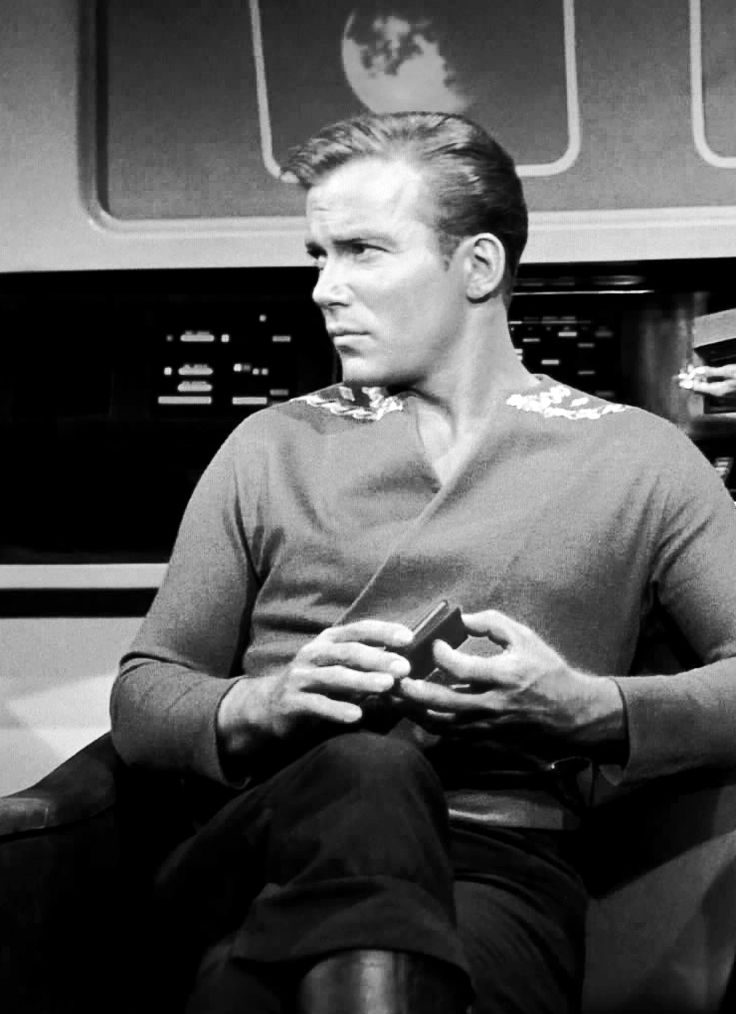 Captain James T. Kirk (William Shatner) - Star Trek: The Original Series (1966-69)