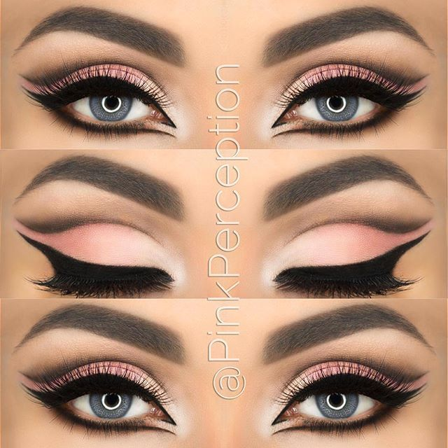 cut crease makeup…