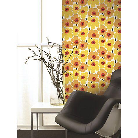 Marimekko Pieni Unikko Wallpaper