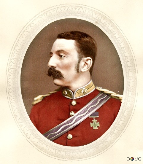 Lt. John Rouse Merriott Chard VC., Royal Engineers (Battle of Rorke's Drift 22–23 January 1879).