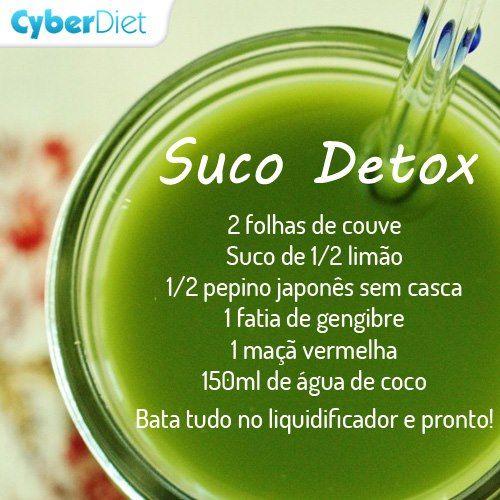 sucos detox receitas - Pesquisa do Google