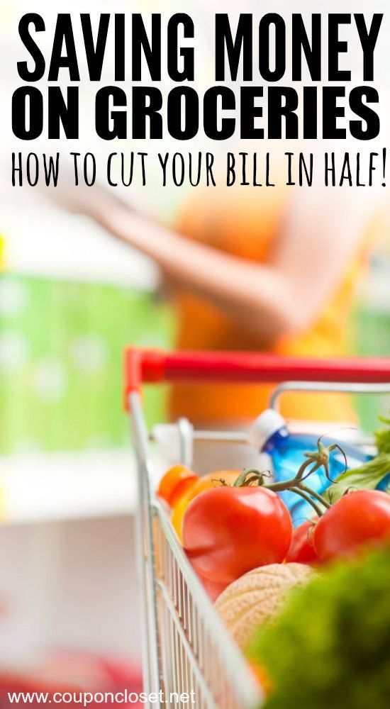 Saving Money on Groceries - everything you need to know to cut your bill in half.