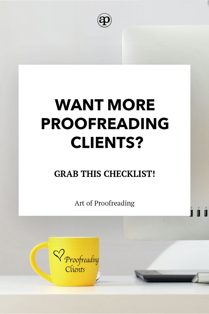 how to get work as a proofreader