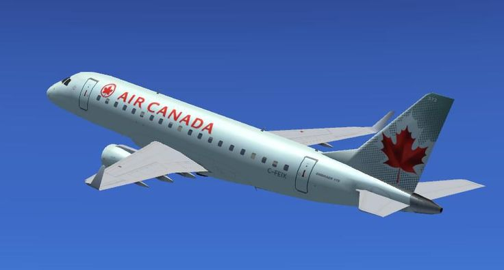 Embraer E-jets (E-170, E-175, E-190, and E-195) with interactive virtual cockpit.   Models by AI Aardvark.