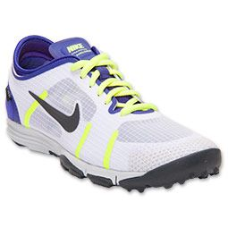 Women's Nike Lunar Element Training Shoes | FinishLine.com | White/Metallic Dark Grey/Electro