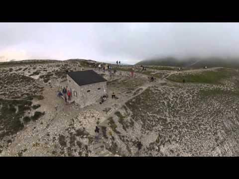 Monte Vettore - Rifugio Zilioli - Lago di Pilato - riprese aeree
