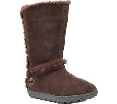 Timberland Mukluk Pull-On Faux-Fur Boot  Brown