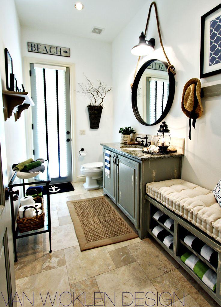 63 Best The Beach Bathroom Images On Pinterest