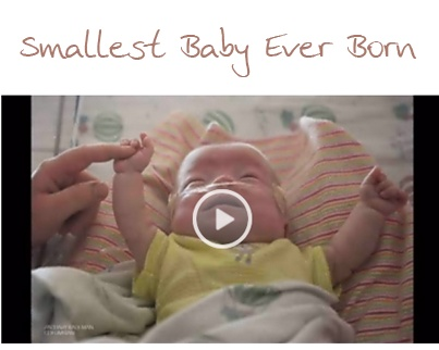 smallest baby ever born goes home from the hospital http