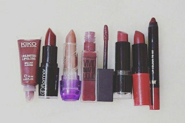 #KIKO #Flormar #Jordana #Maybelline #Catrice #Rimmel #H&M #lipstick #lipgloss #liquidlipstivk #lipstain #lipliner #fall #winter #swatches #makeup #egypt #blog #beauty   shahinazhussein.blogspot.com