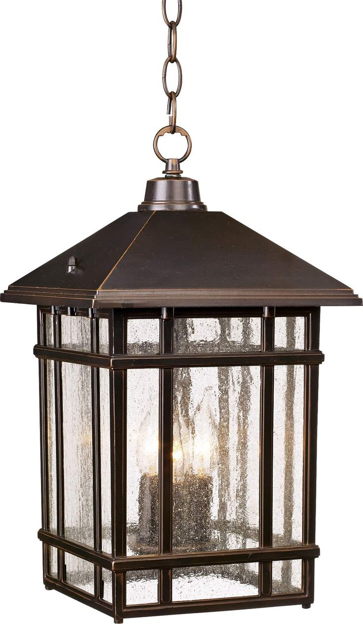 J du J Sierra Craftsman Outdoor Hanging Light - #26031 | www.lampsplus.com