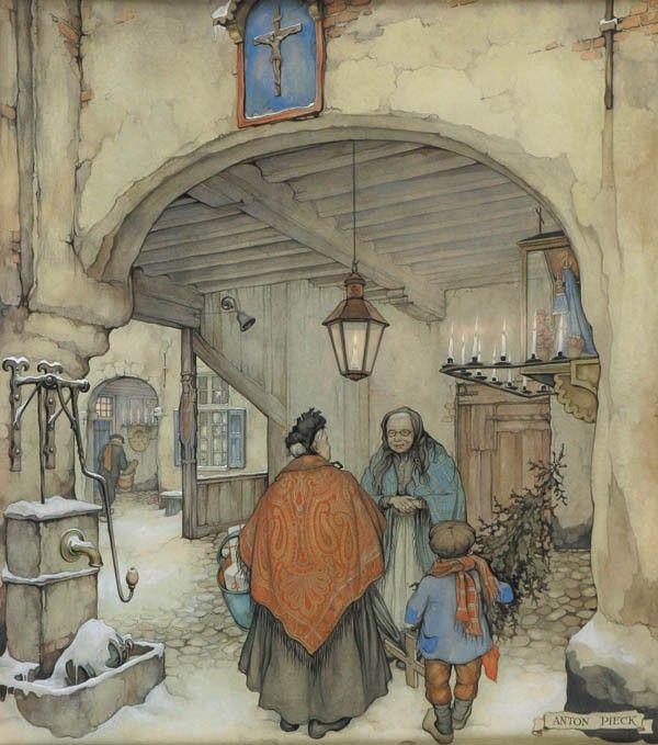 Anton Franciscus Pieck - о девятнадцатом веке с ностальгией (2): vehvepznbyf