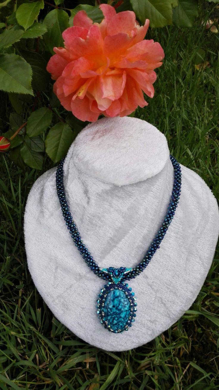 Kék Óceàn-Blue Ocean necklace