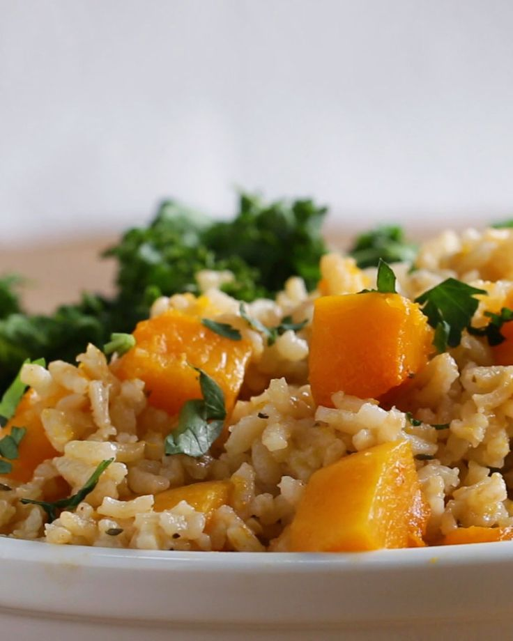 One-Pot Butternut Squash Pilaf Recipe by Tasty