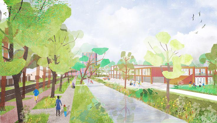 CIVIC architects - Hazelaar School - Rotterdam | exterior