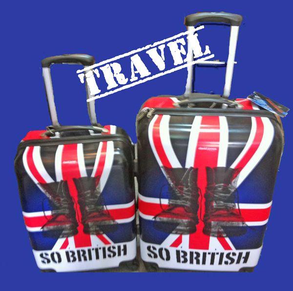 Nuevo sorteo en Revista Feminity: Dos maletas originales british de David Jones. ¿A qué esperas para participar?