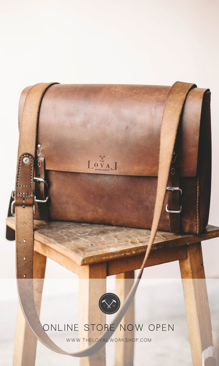The Loyal Workshop ethical hand-stitched leather satchel, eco veg-tanned http://www.theloyalworkshop.com/store-selling-ethical-leather-goods/