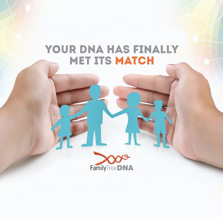 With our premier suite of DNA tests and the world's most comprehensive matching database...your DNA has met its match!