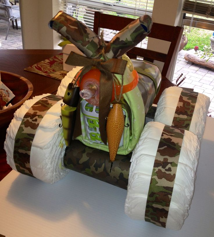Four wheeler diaper cake This is like the diaper cake, Vanessa Smith Bridges, I was telling you about