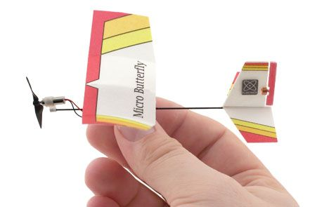 Micro Butterfly RC Plane
