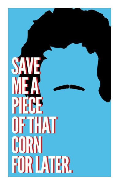 Nacho Libre 'Save Me Some Of That Corn' Art by BrixtonCreative