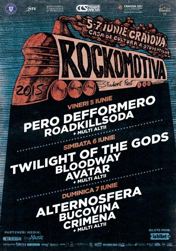 Festivalul Rockomotiva la Craiova