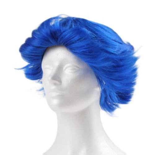 West Bay Fun Flip Clown Wig - Royal Blue