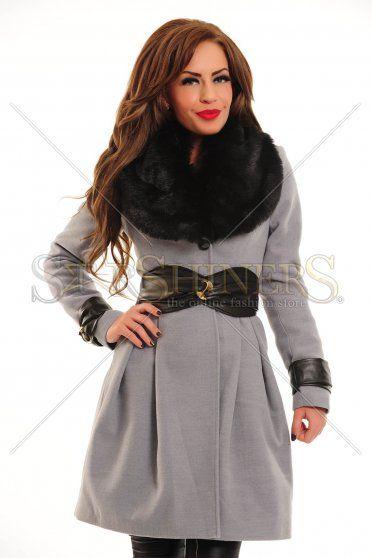 Palton LaDonna Siberian Cold Grey