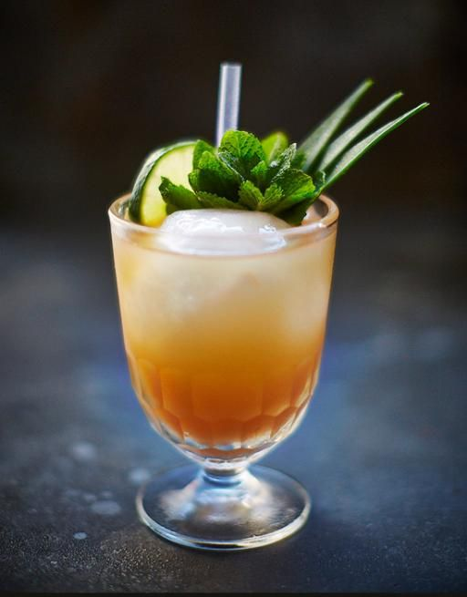 """Mai Tai is Tahitian for """"good"""", but we think this tropical cocktail is better than that – it's South Pacific sunshine in a glass! Get your grass skirts on."""