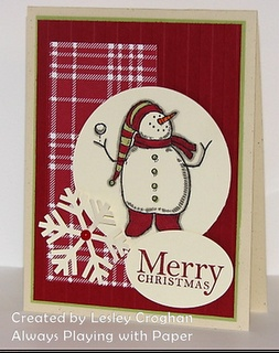 Stampin' Up:  Snow Much Fun