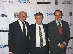 Irwin Winkler, IFF ,Meir Feningstein, Mort Zuckerman