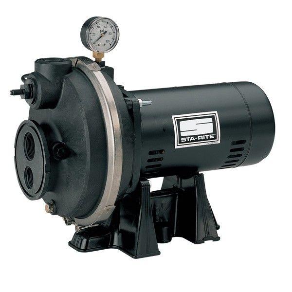 Sta-Rite PLF 1 1/2 HP Deep Well Jet Pump witha 1
