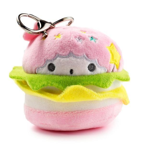 Little Twin Stars Lala Kidrobot x Hello Sanrio Burger Charms Plush