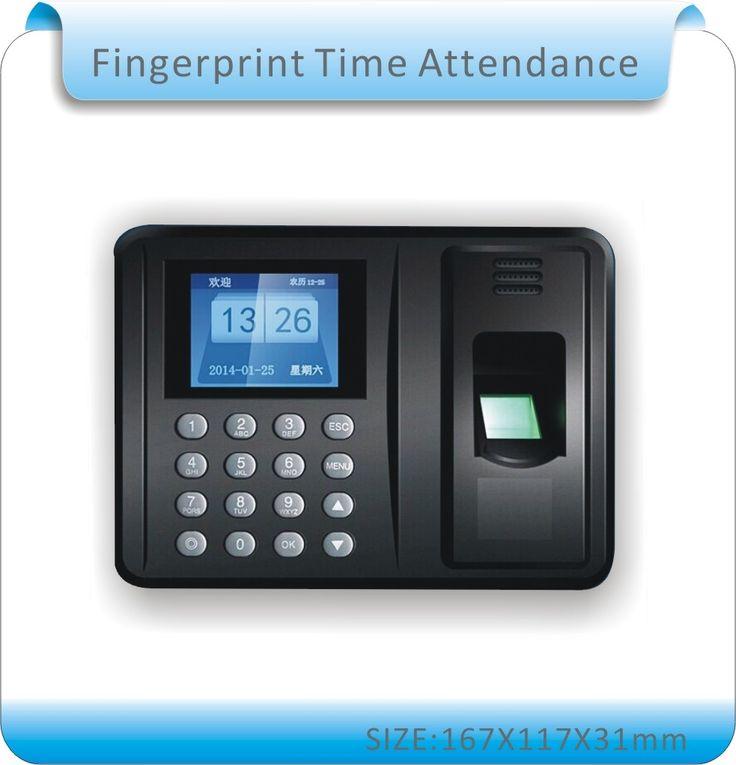 28.49$  Buy here - http://alinqx.shopchina.info/go.php?t=32583690917 - Free shipping  Biometric Fingerprint Time Clock Recorder Attendance Employee Digital Electronic  / English voice 28.49$ #magazineonline
