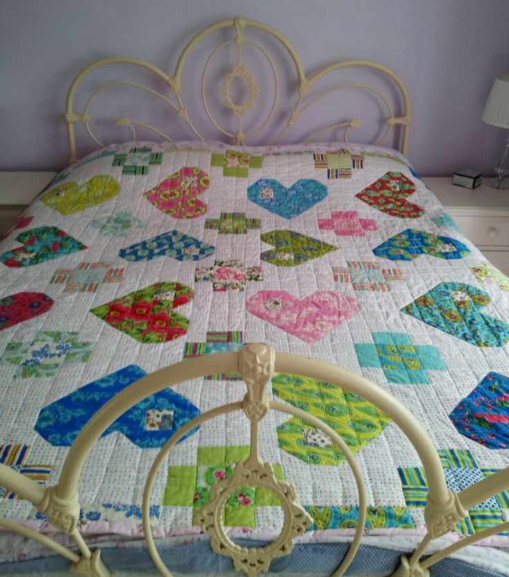 1000 Images About Hearts Amp Valentine Quilts On Pinterest