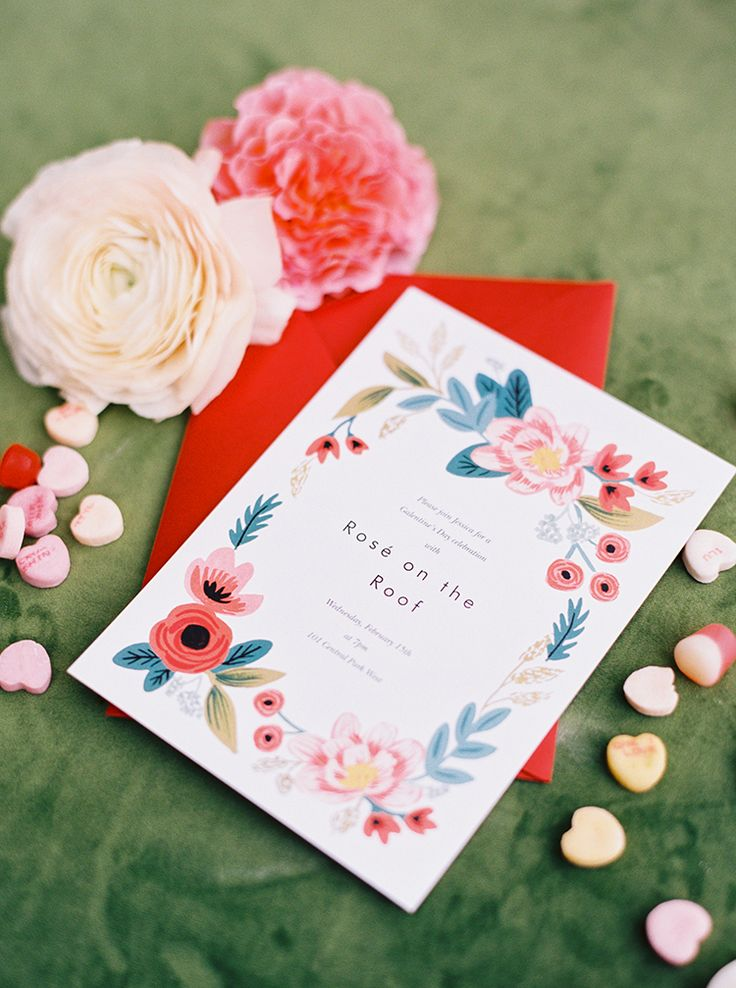 how early should you send out wedding shower invitations%0A Fun and Flirty Bridal Shower Inspiration