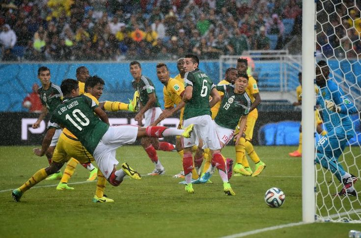 Mexiko : Cameroon: 4 goals - only 1 counts.....