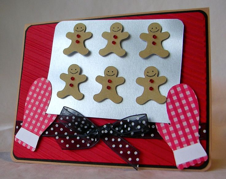 Such a cute way to do gingerbread! Made by Pam of From My Kitchen