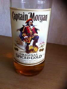 Captain Morgan Spiced Gold Rum Review by the fat rum pirate