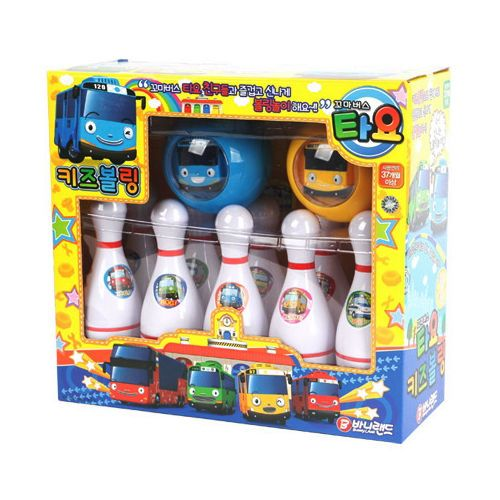#Tayo #TheLittleBus #Bowling Play Set Korea Animation Character #Kids Sports #Toy