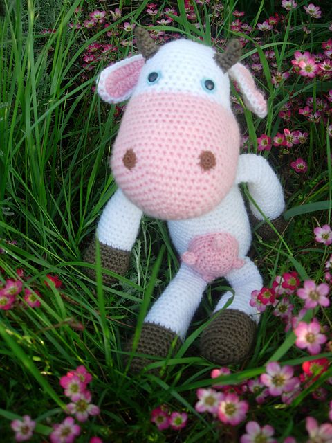Ravelry: Cow free crochet pattern by Sabine Ingrao