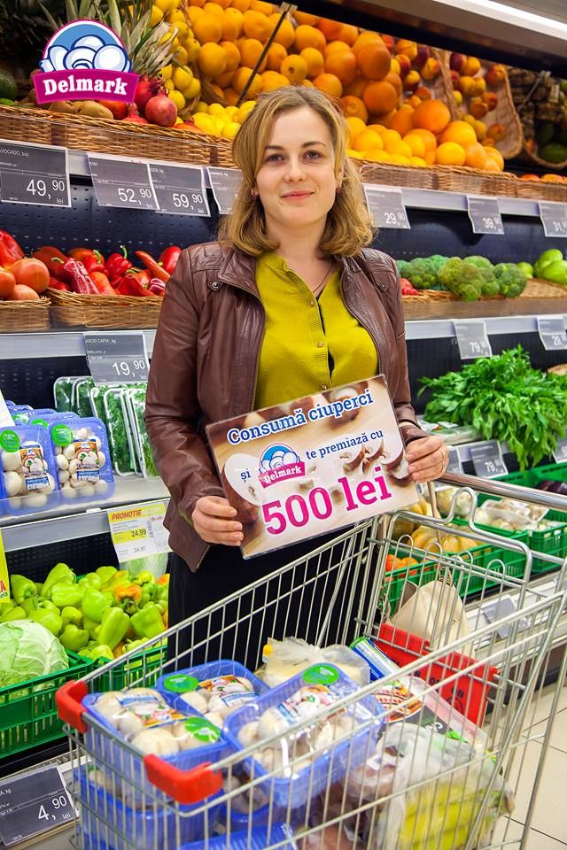 Felicitari Cristina Bors! #Delmark #Ciuperci #Mushrooms #PremiiDelmark #ciupercutadelmark